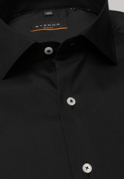 ETERNA LONG SLEEVE SHIRT SLIM FIT PERFORMANCE SHIRT STRETCH BLACK UNI