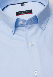 ETERNA LONG SLEEVE SHIRT MODERN FIT PINPOINT LIGHT BLUE UNI