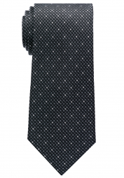 ETERNA TIE BLACK/GREY SPOTTED
