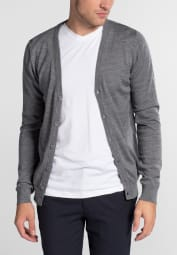 ETERNA KNIT CARDIGAN GREY UNI