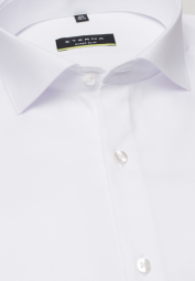 ETERNA LONG SLEEVE SHIRT SUPER-SLIM COVER SHIRT TWILL WHITE UNI