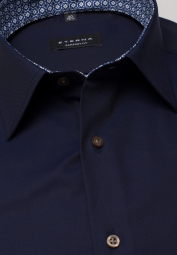 ETERNA LONG SLEEVE SHIRT COMFORT FIT PINPOINT DARK BLUE UNI
