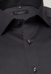 ETERNA LONG SLEEVE SHIRT COMFORT FIT KETTLANCÈ BLACK STRUCTURED