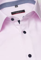 ETERNA LONG SLEEVE SHIRT MODERN FIT TWILL ROSE STRUCTURED