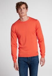 ETERNA KNIT SWEATER WITH ROUND NECK CORAL UNI
