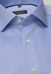 ETERNA LONG SLEEVE SHIRT COMFORT FIT OXFORD LIGHT BLUE UNI