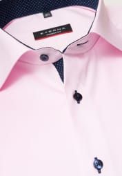 ETERNA LONG SLEEVE SHIRT MODERN FIT PINPOINT ROSE UNI