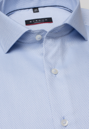ETERNA LONG SLEEVE SHIRT MODERN FIT LIGHT BLUE STRUCTURED