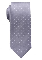 ETERNA TIE LILAC / GRAY SPOTTED