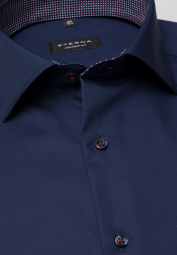 ETERNA LONG SLEEVE SHIRT COMFORT FIT POPLIN BLUE UNI