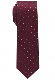 ETERNA TIE BORDEAUX SPOTTED