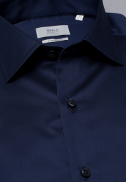 ETERNA LONG SLEEVE SHIRT MODERN FIT GENTLE SHIRT TWILL BLUE UNI