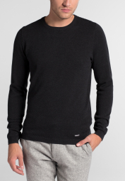 ETERNA KNIT SWEATER WITH ROUND NECK GRAY UNI