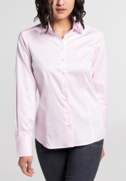 ETERNA LONG SLEEVE BLOUSE FOR TALL WOMEN MODERN CLASSIC PINK UNI
