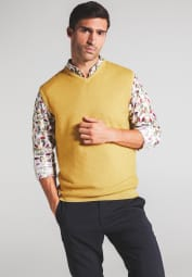 ETERNA KNIT PULLUNDER YELLOW UNI
