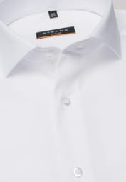 ETERNA LONG SLEEVE SHIRT SLIM FIT STRETCH WHITE UNI