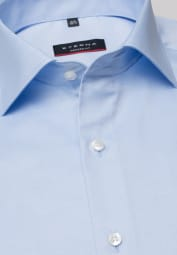 ETERNA LONG SLEEVE SHIRT MODERN FIT COVER SHIRT TWILL LIGHT BLUE UNI
