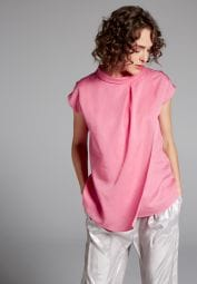 HALF SLEEVE BLOUSE 1863 BY ETERNA - PREMIUM ROSE UNI