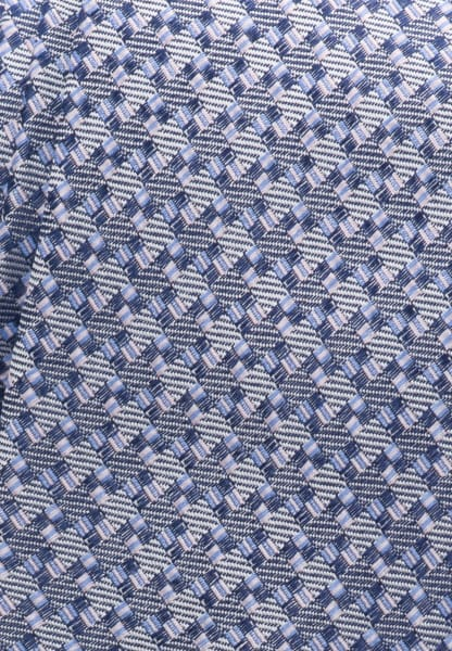 ETERNA TIE BLUE PATTERNED