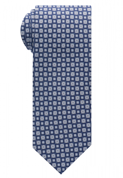 ETERNA TIE NAVY BLUE PRINTED