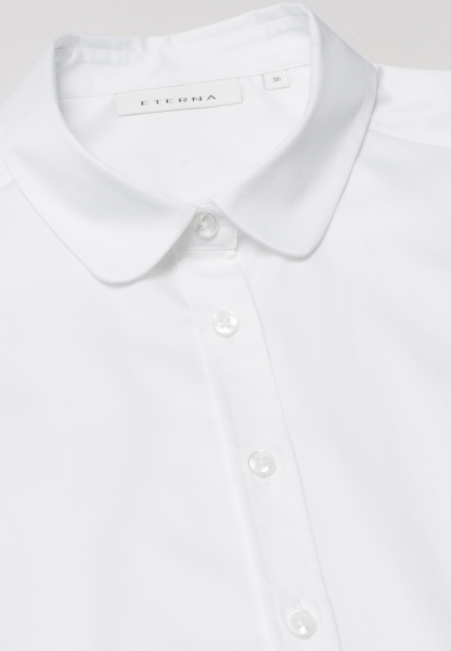 ETERNA WITHOUT SLEEVES BLOUSE MODERN CLASSIC WHITE UNI