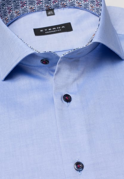 ETERNA LONG SLEEVE SHIRT COMFORT FIT PINPOINT LIGHT BLUE UNI