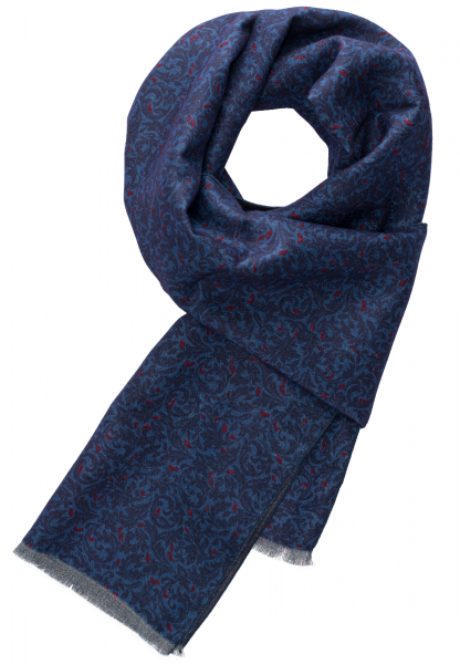 ETERNA SCARF BLUE PRINTED