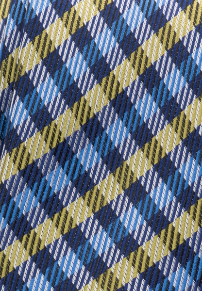 ETERNA TIE GREEN/BLUE CHECKED